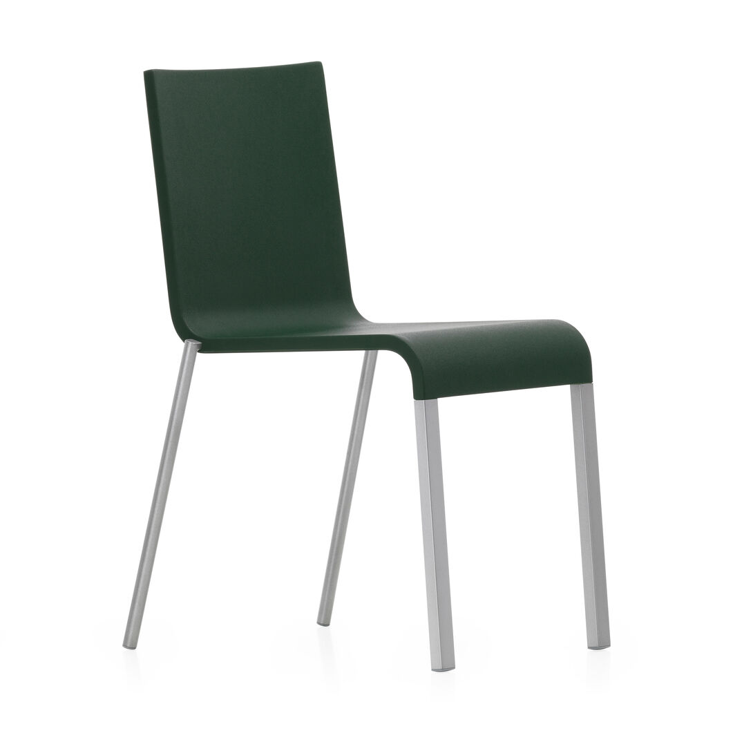 .03 Stacking Chair in color Dark Green