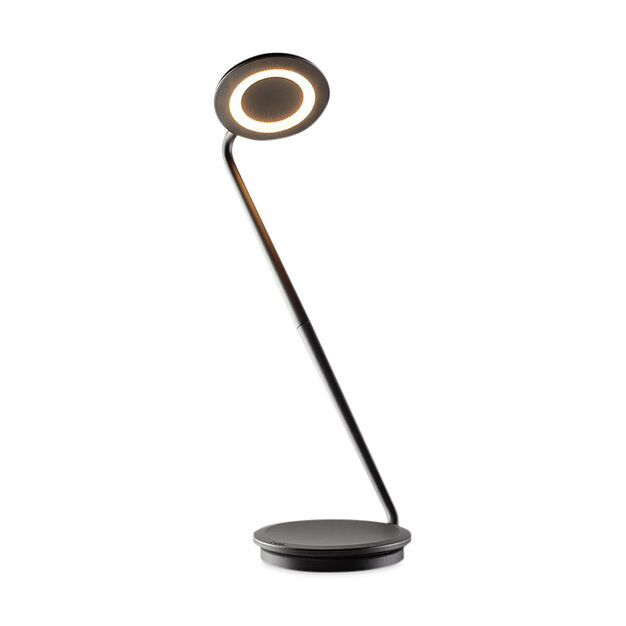 Black Pixo Lamp in color Black