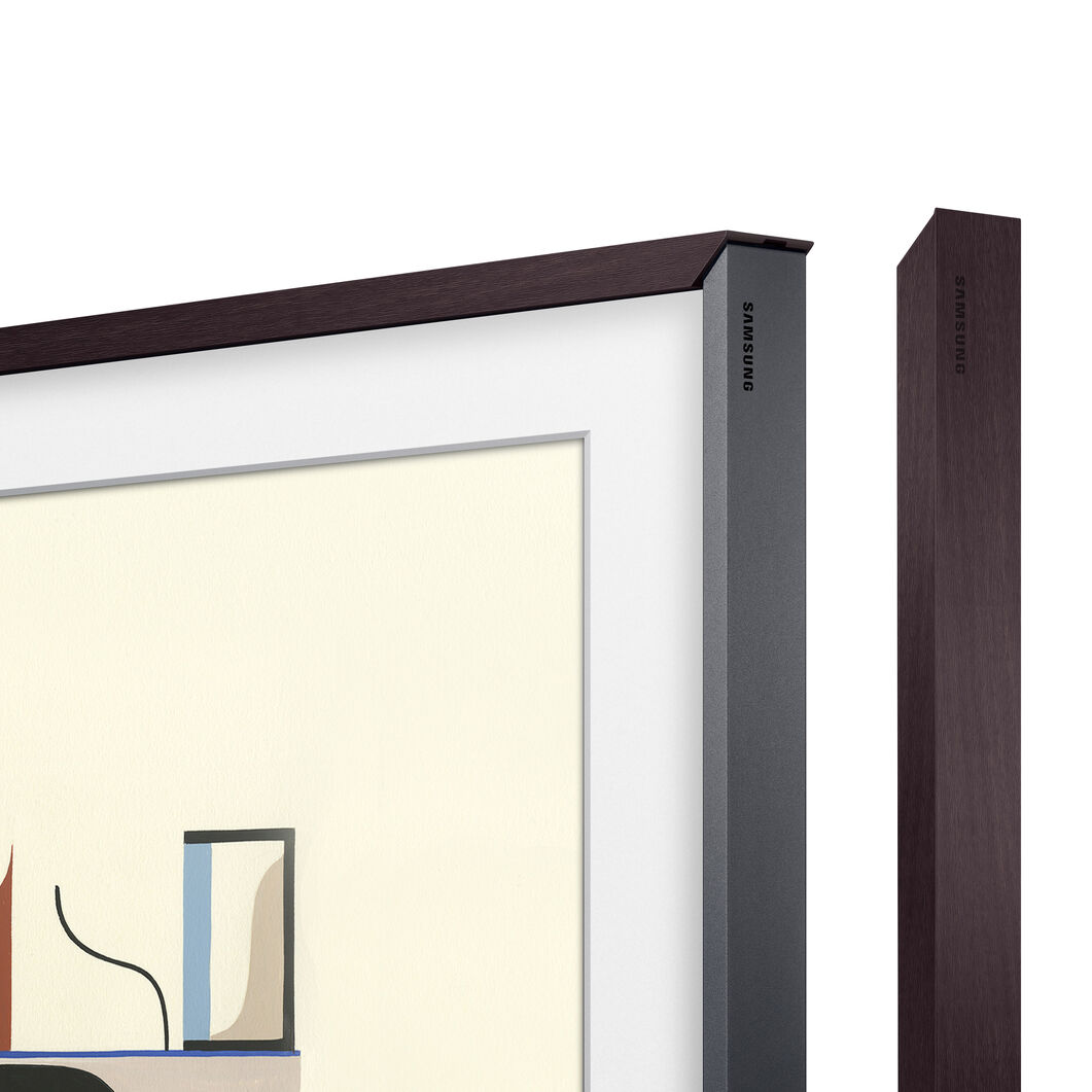 Samsung Customizable Bezels for The Frame TV in color Brown