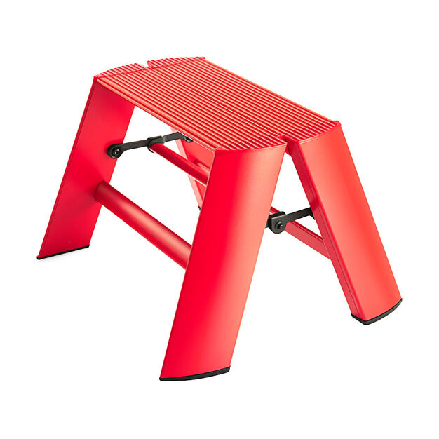 Lucano Step Stools- Two Step in color Red