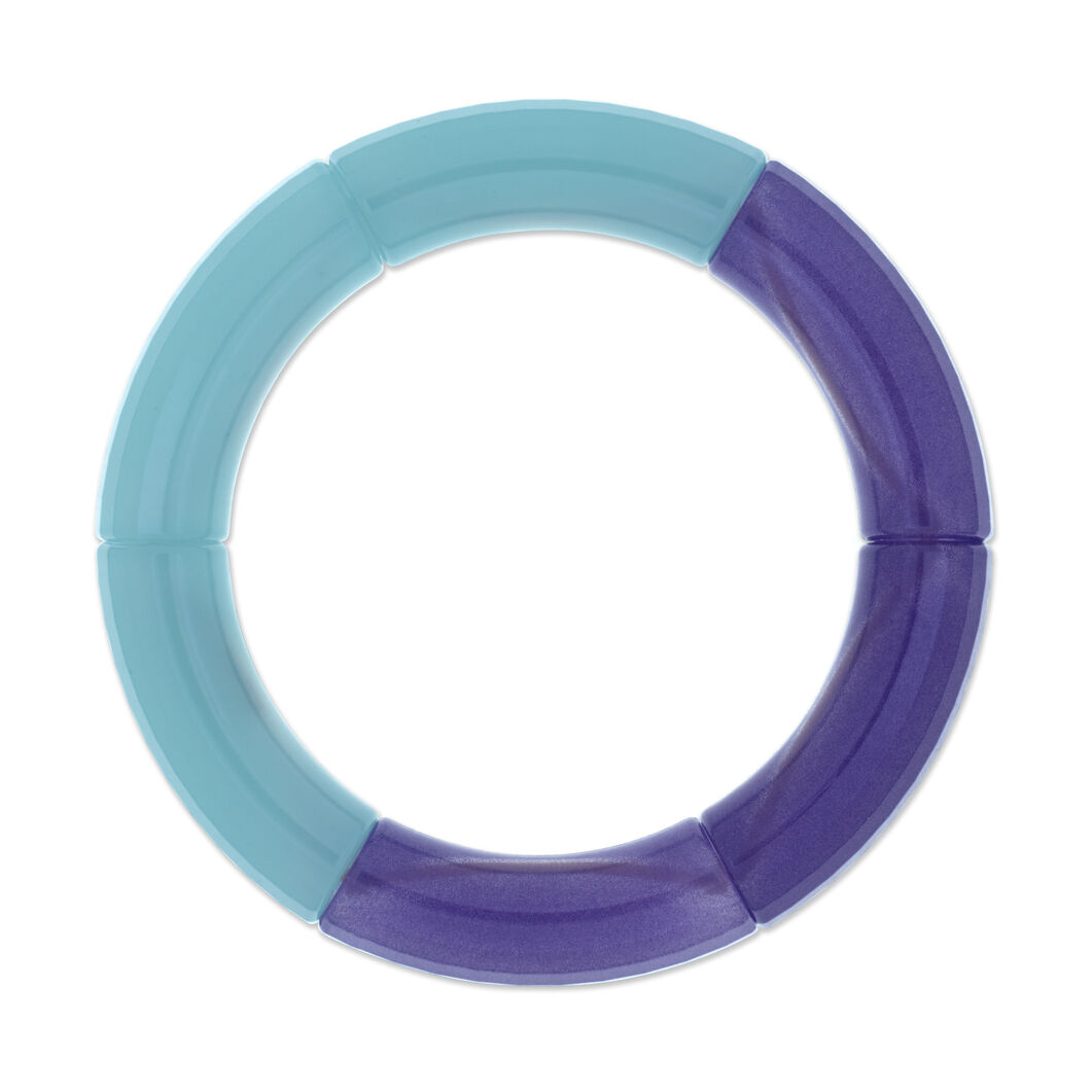 Colorblock Bracelet in color Blue