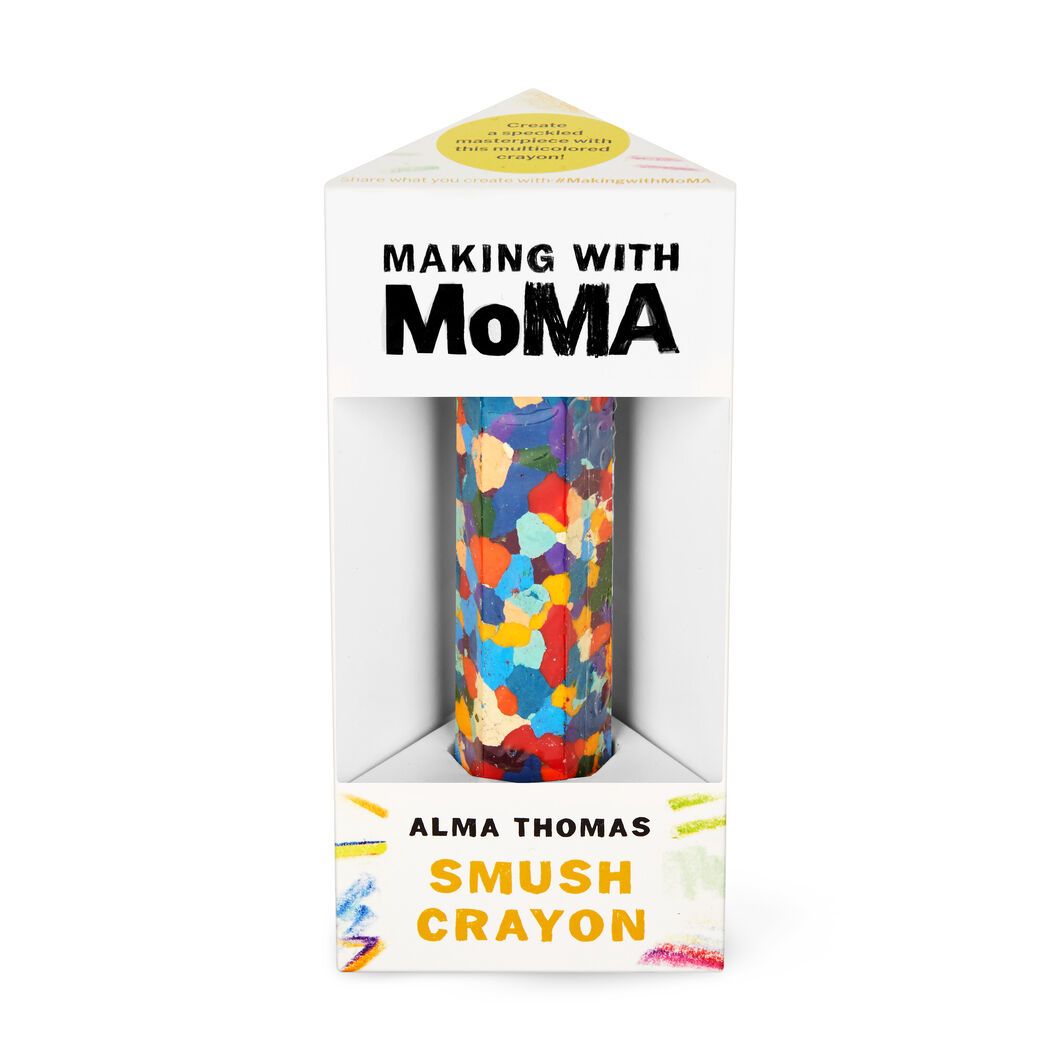 Making with MoMA Smush Crayon in color Multi Thomas