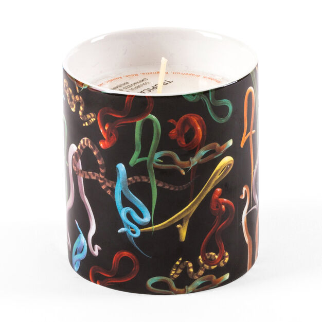 Seletti Wears Toiletpaper: Snakes Candle in color