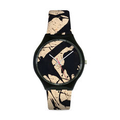 Pollock Black & White Watch in color