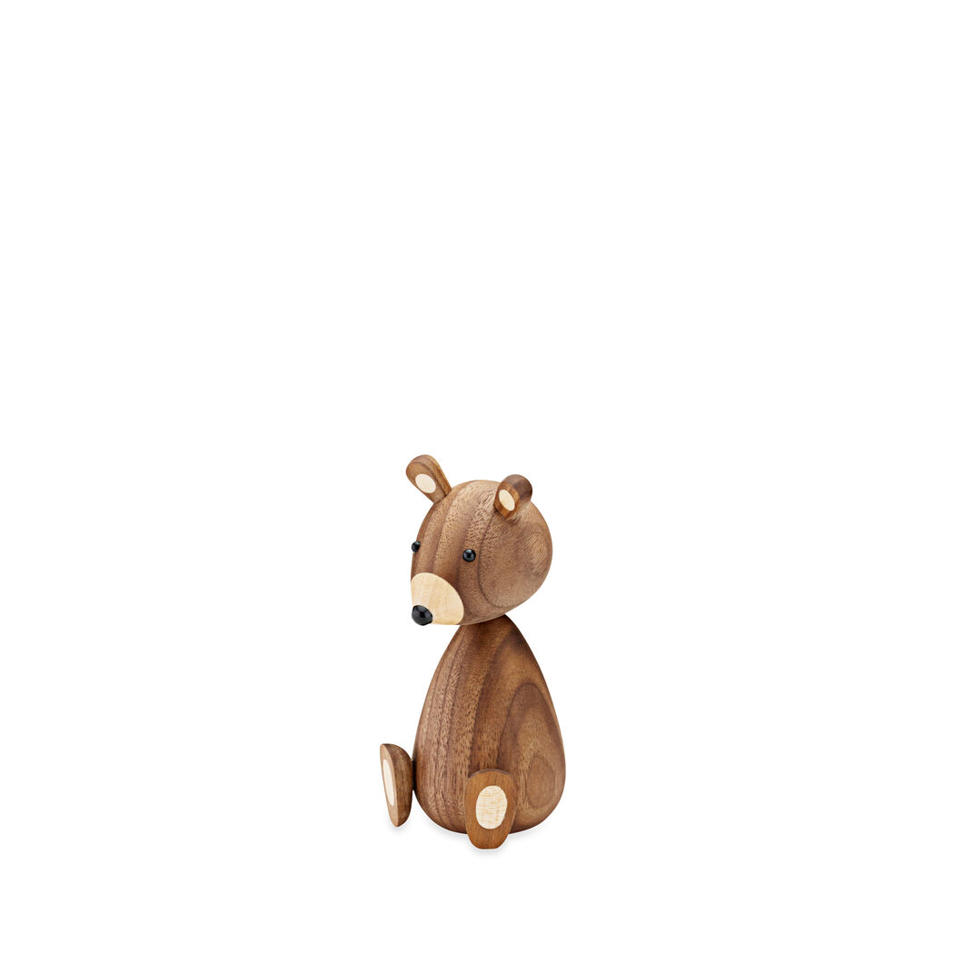Wood Bear in color Walnut