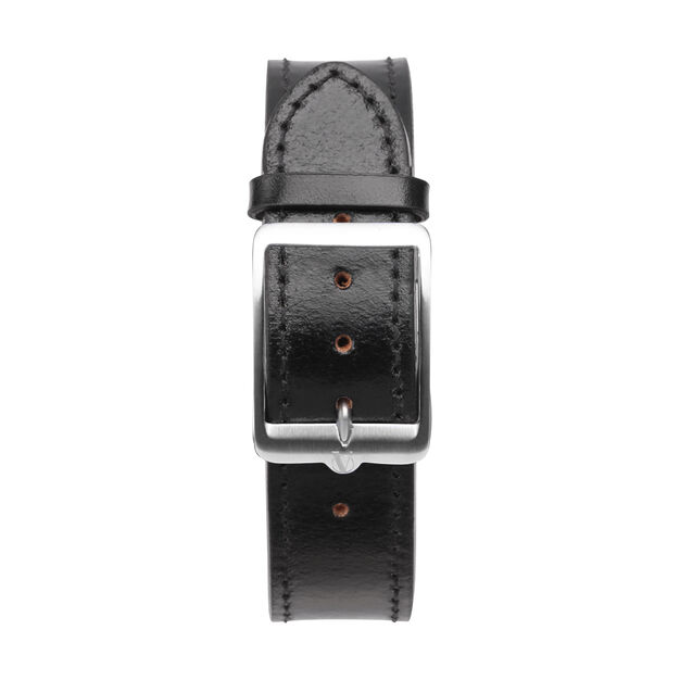 anOrdain Model 1 Watch - Iron Cream Dial in color Black Shell