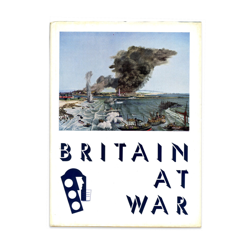 Britain At War- Hardcover in color