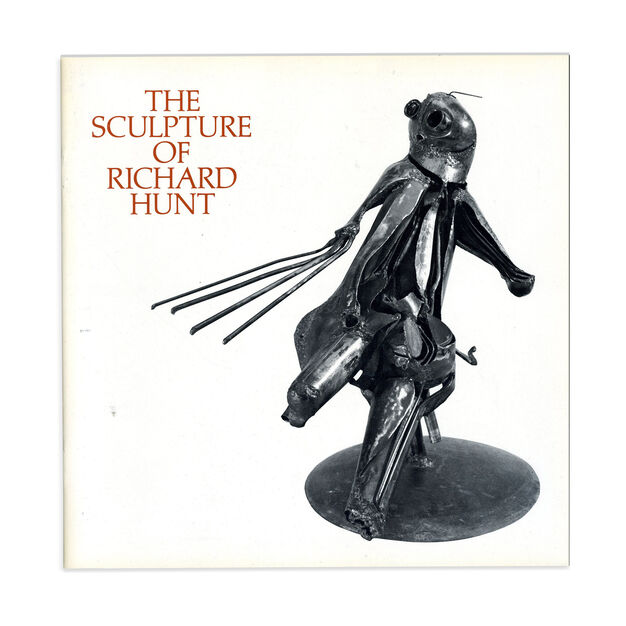 The Sculpture of Richard Hunt - Softcover in color