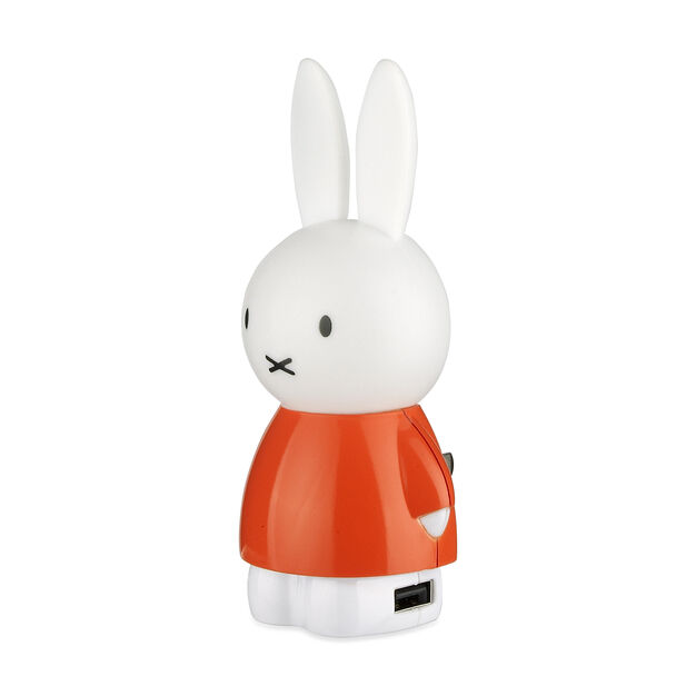 Miffy Night Light and USB Charger in color Orange