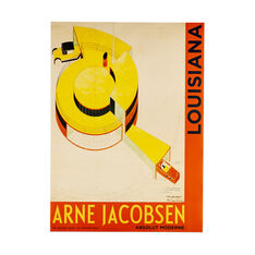 Arne Jacobsen: Fremtidens Hus Poster in color