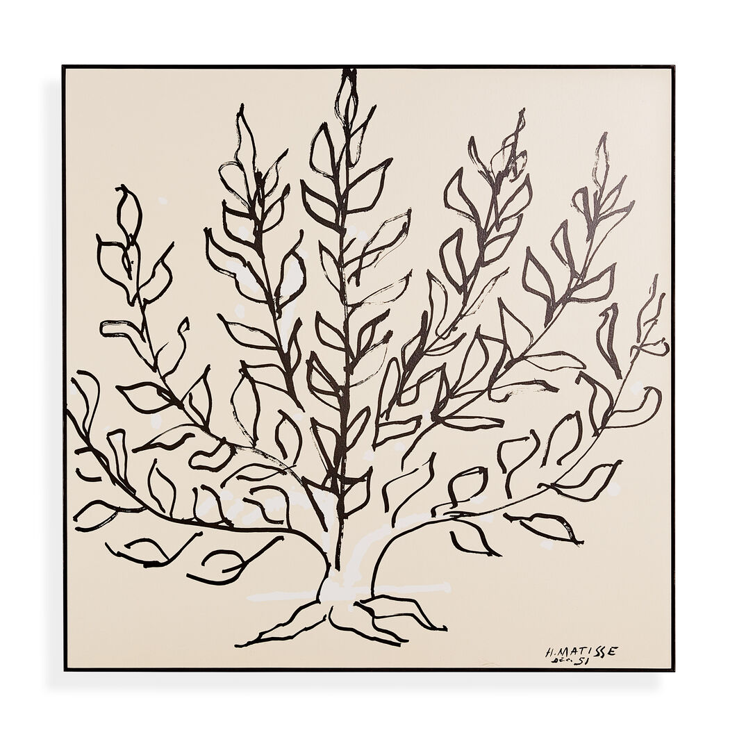 Matisse: Le Buisson Framed Print in color