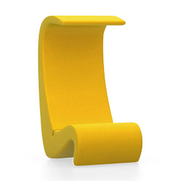 Amoebe Highback Chair in color Yellow