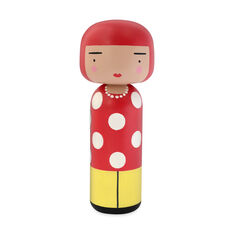 Artist Wooden Dolls in color Dot