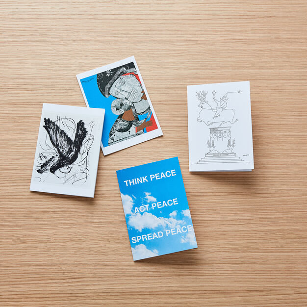 William Kentridge Holiday Cards - Set of 12 in color