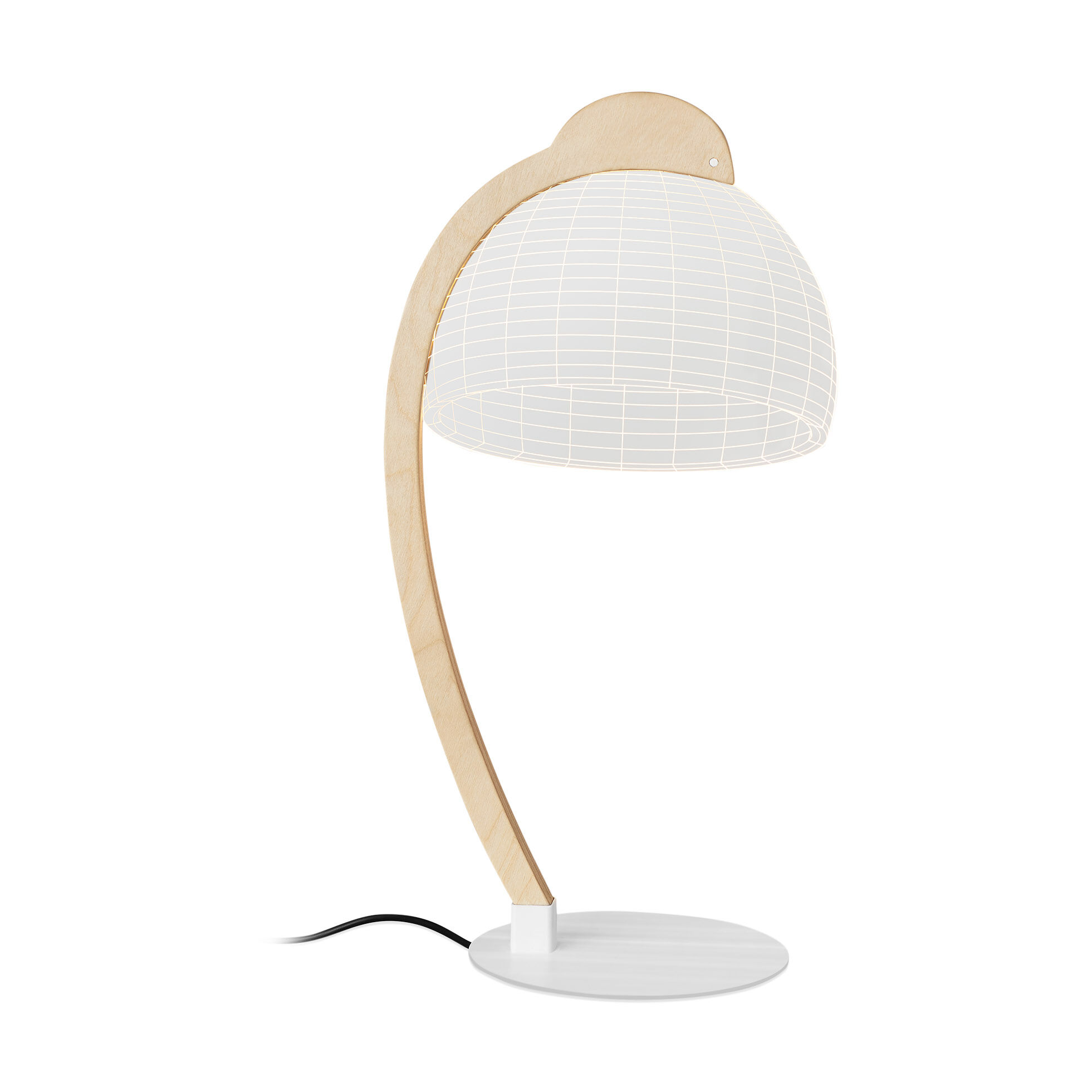 Gentil Dome Table Lamp In Color