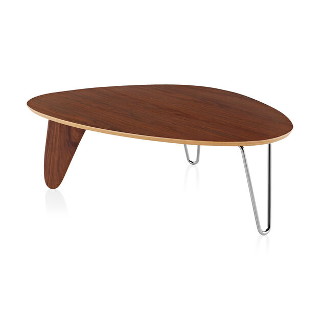 Noguchi Rudder Coffee Table in color Walnut