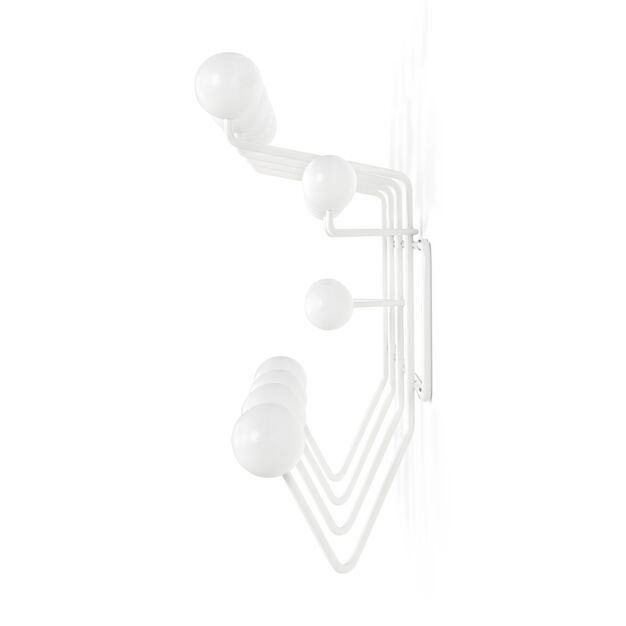 Eames® Hang-It-All Coat Rack in color White/ White