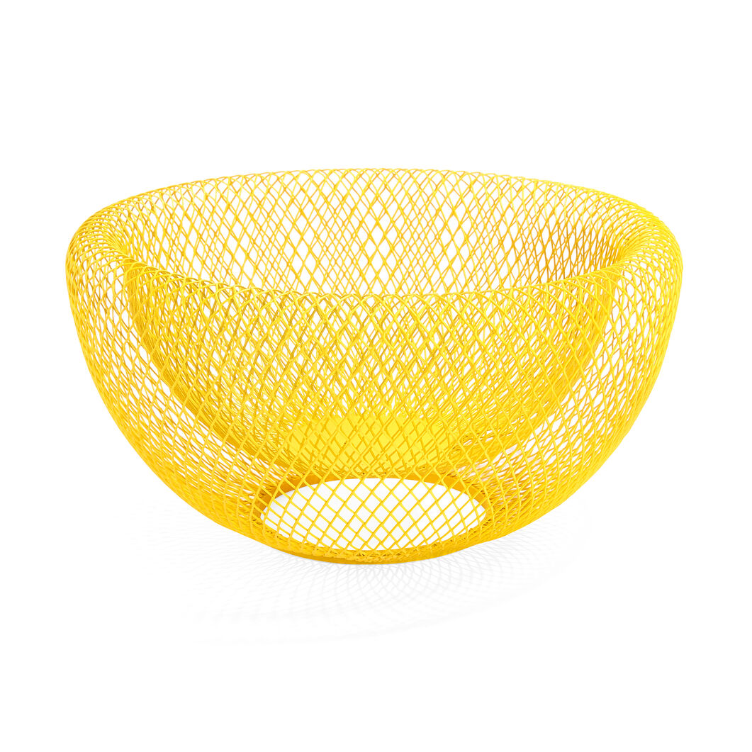 Wire Mesh Bowls in color Yellow