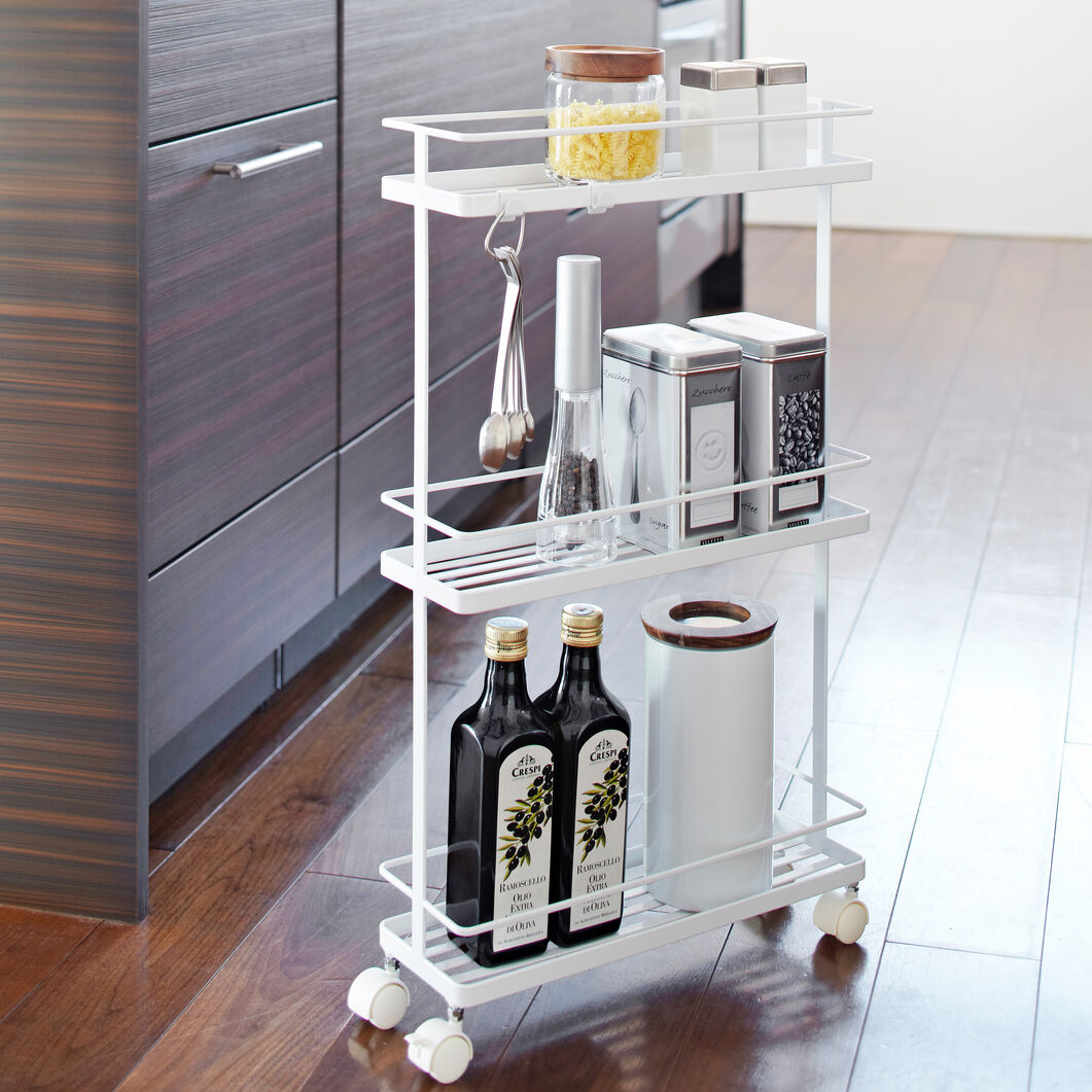 Rolling Kitchen Storage Cart | MoMA Design Store on kitchen cart with drop leaf, kitchen island cart, kitchen wine cart, kitchen storage cans, kitchen carts on wheels, kitchen cart with refrigerator, kitchen islands from lowe's, decor with painted kitchen carts, bed bath and beyond kitchen carts, kitchen storage shelf, kitchen delivery carts, kitchen storage hardware, serving carts, kitchen carts home depot, small kitchen carts, kitchen loading carts, industrial style kitchen carts, kitchen storage cages, kitchen carts w drawers, kitchen cart at target,