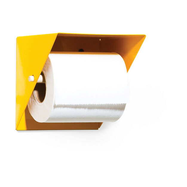 Toilet Paper Holder with Shelf in color Yellow