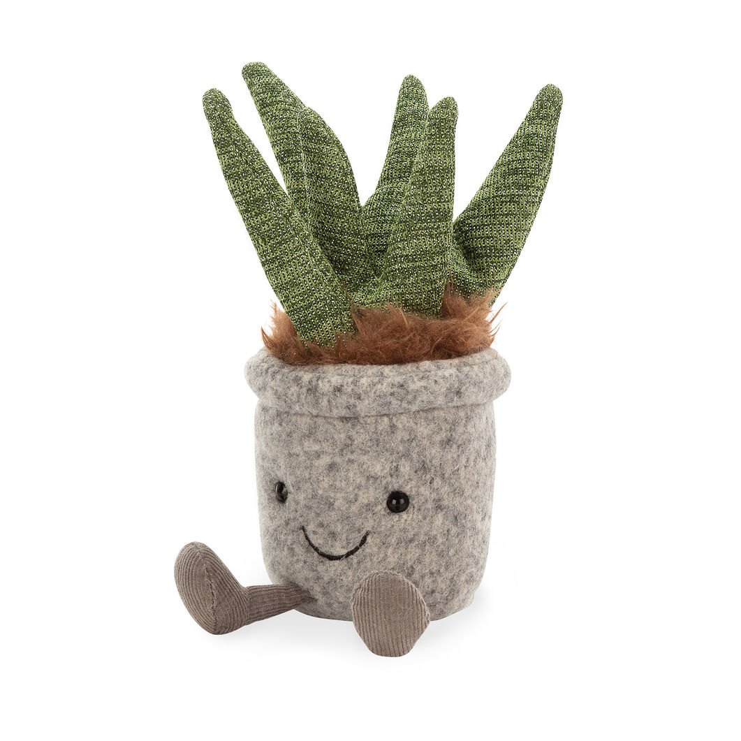 Silly Succulent Plushes in color Aloe