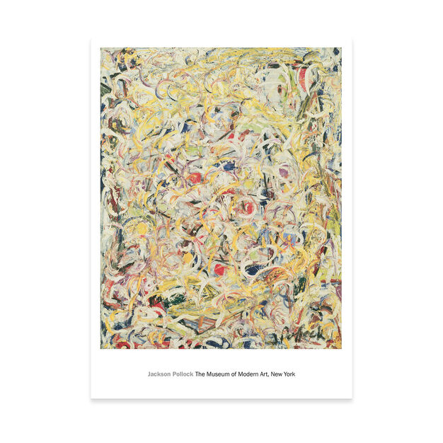 Pollock: Shimmering Substance Poster in color