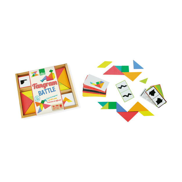Tangram Battle Game in color