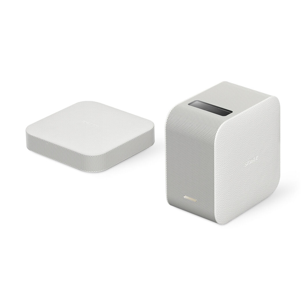 Portable Ultra Short Throw Projector in color