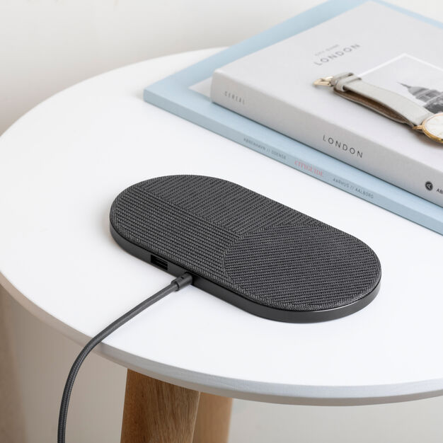 Native Union Drop XL Wireless Dual Charging Dock in color