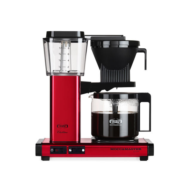 Technivorm Moccamaster KBG Coffee Brewer- Red in color Red