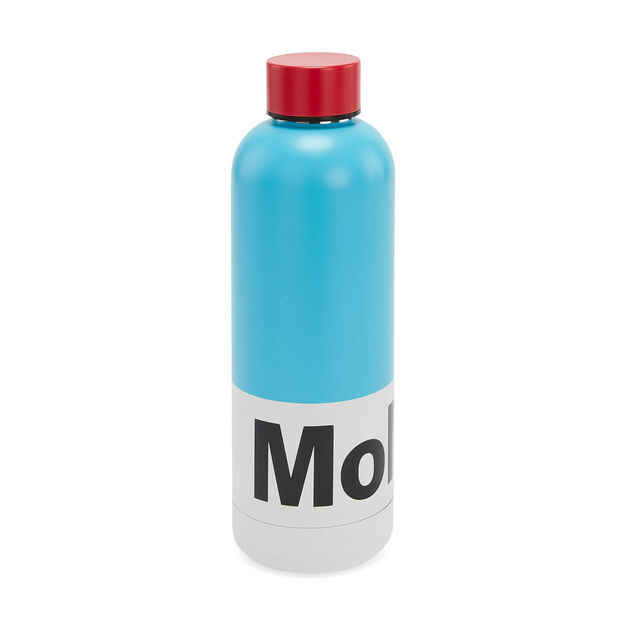 MoMA Water Bottle in color Blue/ Red