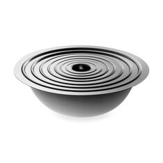 Planetarium Stainless Steel Nesting Bowls in color