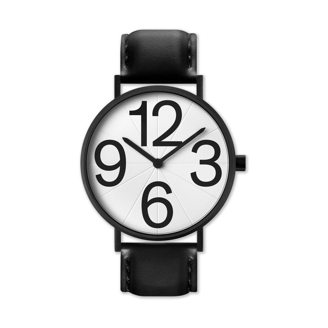 Numbers Watch in color White