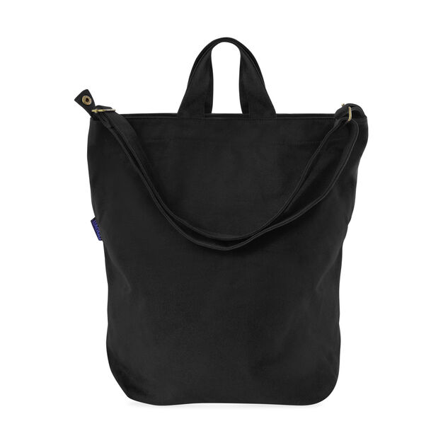 Canvas Duck Bag Black in color