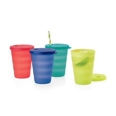 Tupperware© Impressions Tumblers – Set of 4 in color