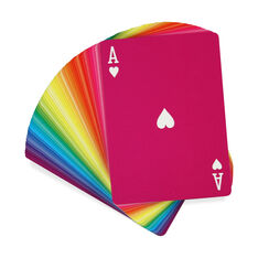 Rainbow Playing Cards in color