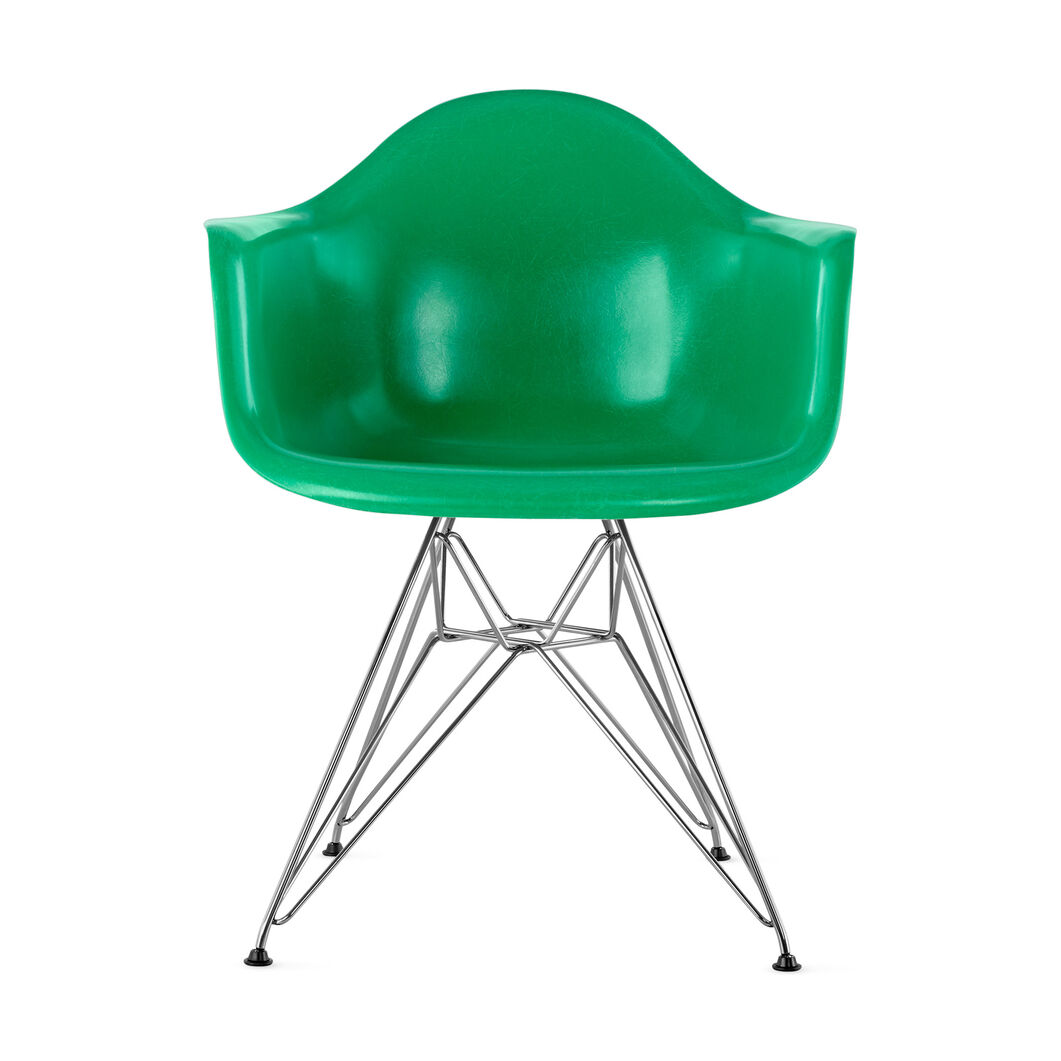 Eames© DFAR Armchair from Herman Miller© in color Green