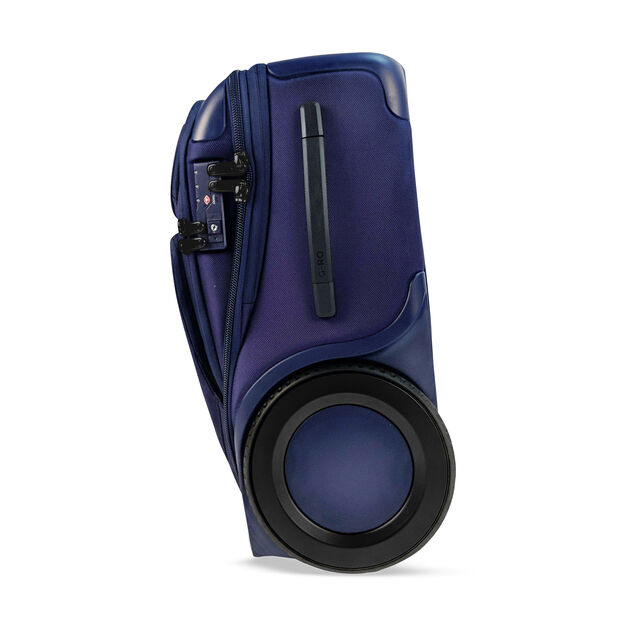 G-RO Smart Carry-On Suitcase in color Blue