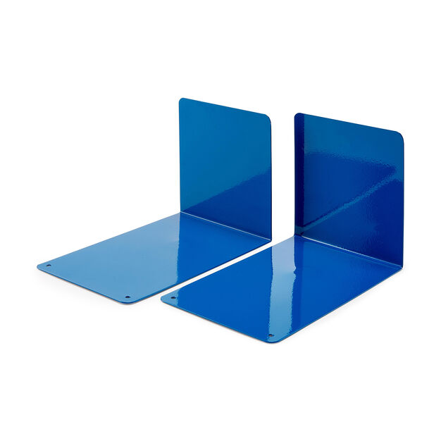 Ellepi Bookends - Set of 2 in color Blue