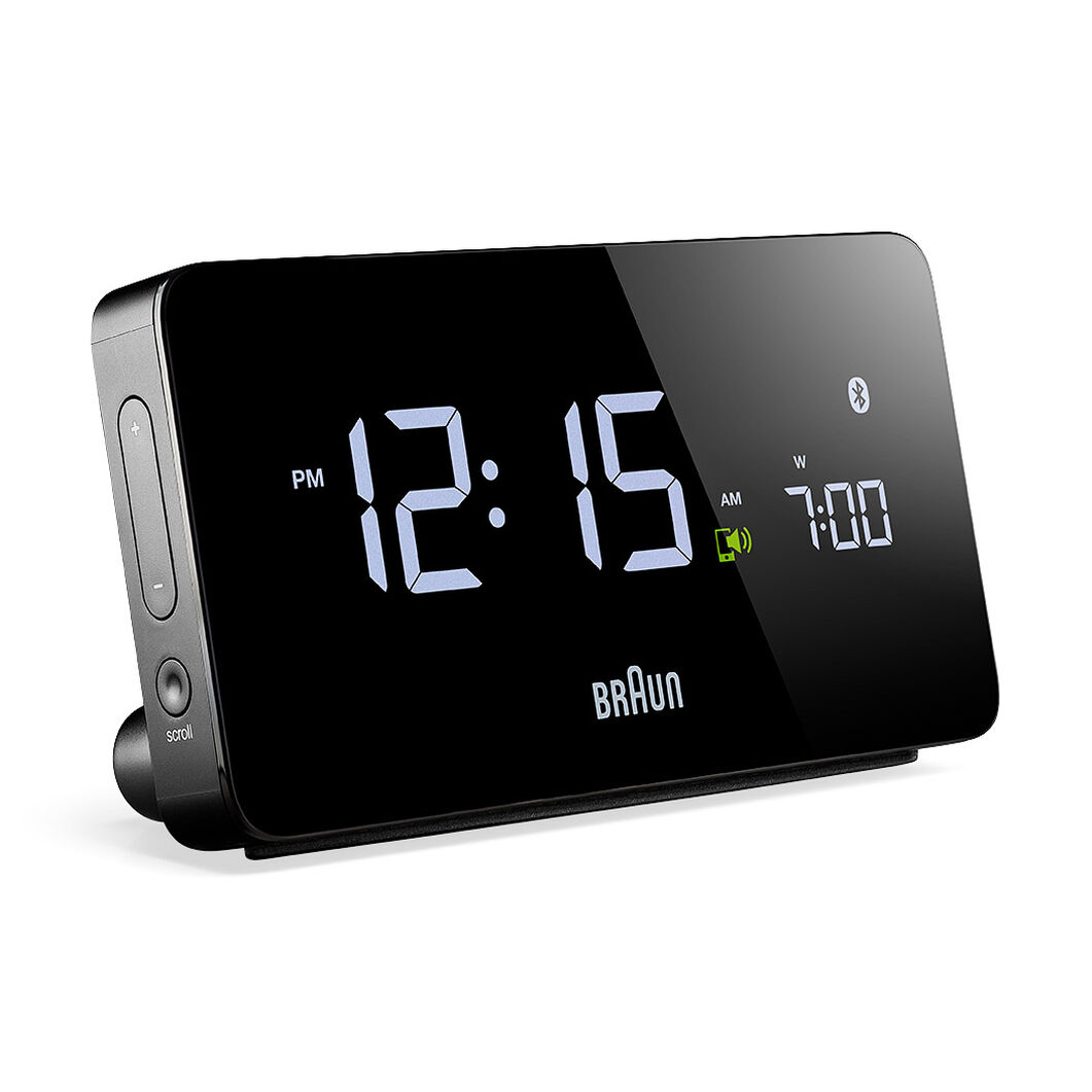 Braun Digital Bluetooth Connected Clock in color