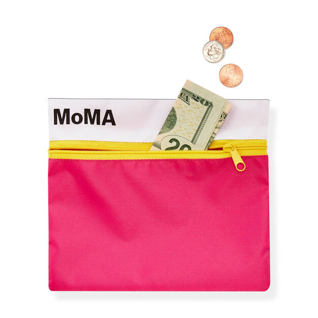 MoMA Logo Pouch in color Pink
