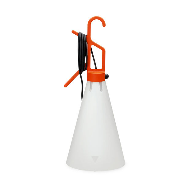Mayday Hook Lamp in color Orange