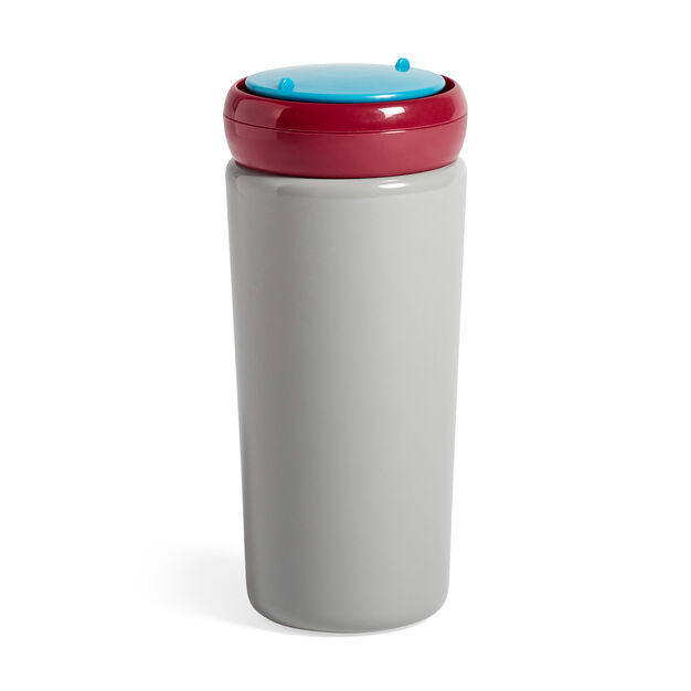 HAY George Sowden Travel Mug in color Gray