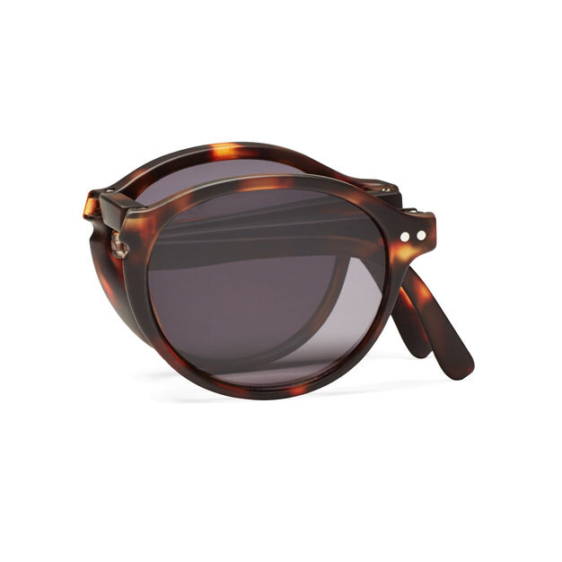 IZIPIZI Foldable Sunglasses #F in color Tortoise