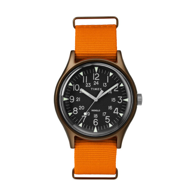 Timex MK1 Watch in color Orange