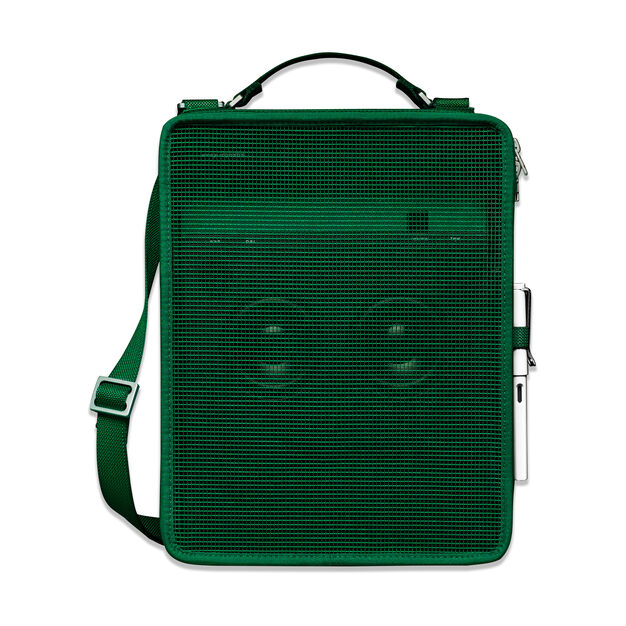 Mesh Bag for Teenage Engineering OB-4 Portable Bluetooth FM Radio in color Green