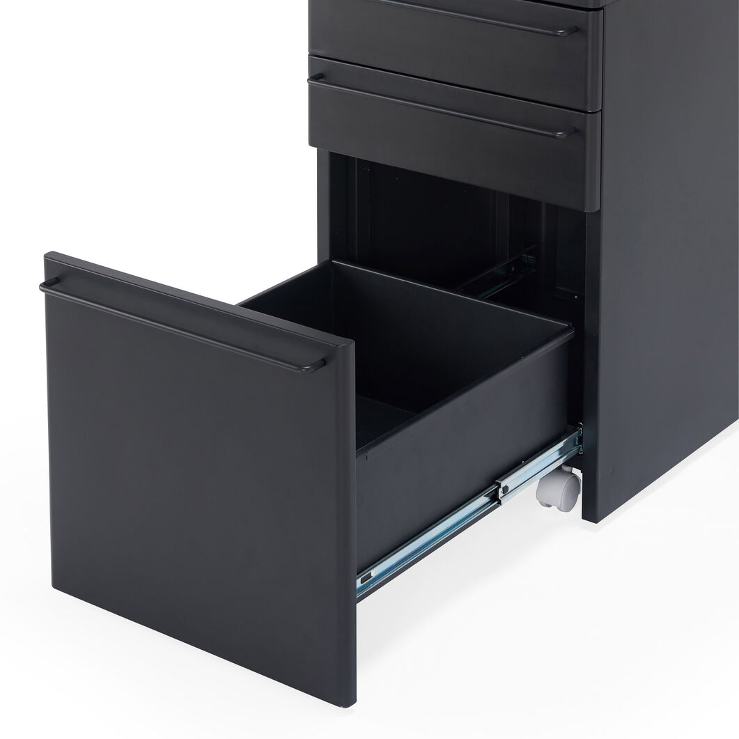MUJI File Cabinet in color Dark Gray