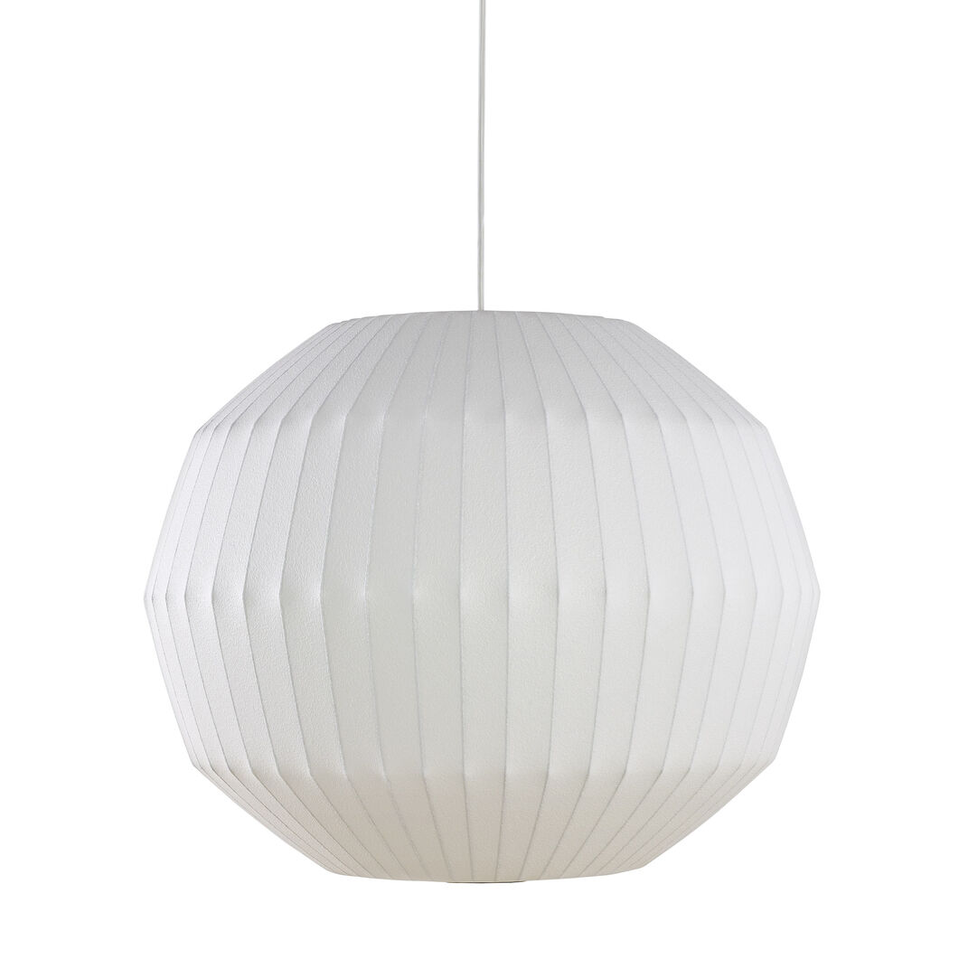 Nelson™ Angled Sphere Bubble Pendant in color