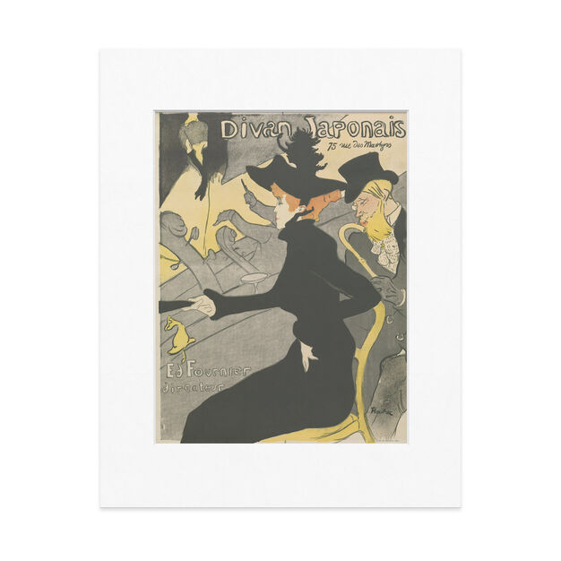 Toulouse-Lautrec: Divan Japonais 14 x 11 in color