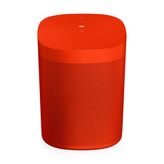 HAY Sonos One Limited Edition Speakers in color Red